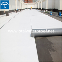 Hot sell 1.5mm thickness reinforced polyvinyl chloride (pvc) waterproofing membrane