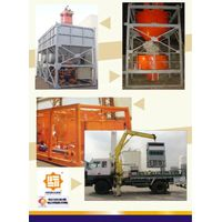 Modularized  Portable  Transportable  Containerized  Mobile Storage Silo System thumbnail image