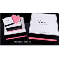Luxury Drawer Paper  Box with Ribbon handle