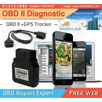 OBD Diagnostic + OBD Vehicle GPS Car Tracker Fuel Monitor