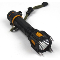 LED outdoor self-defense products strong light illumination safety hammer charging hunting searchlig thumbnail image