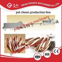 dog chewing pet food single screw extruder making machine thumbnail image