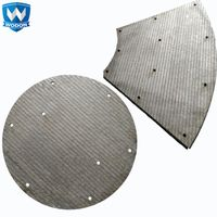 Wodon mixer machine chromium carbide overlay wear resistant liner