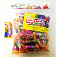 Bubble gum show multi fruit flavor