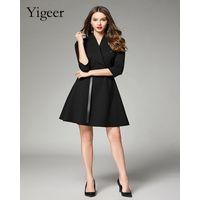 Short Sleeve Wrap Dress With Waist belt