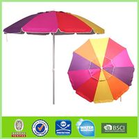 Hot sale Classical Windproof Parasol rainbow umbrella