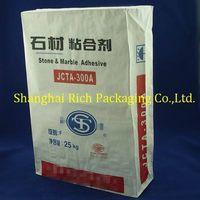 25kg kraft paper bags for tile adhesive