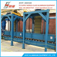 Aluminium Extrusion Profile Air Quenching