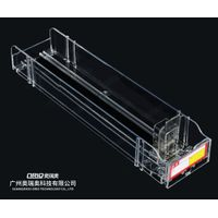 dividers supermarket motorized shelf pusher system