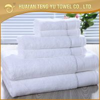 100% cotton white hotel towel