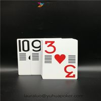 Paper Casino Playing Cards Professional Custom with Bar Code thumbnail image