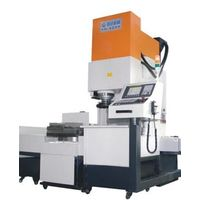 Exchange-pallet vertical CNC milling machine