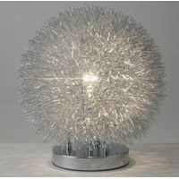 touch Aluminium ball table lamp/silver touch ball desk lamp/touch aluminium wire ball table lamp/Dim