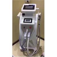 Three in one OPT SHR Laser Hair Removal Machine