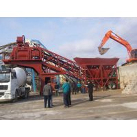 YHZS60 concrete batching plant, portable concrete plant in Thailand