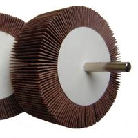 flap wheel with shaft