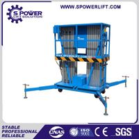 China indoor 10m single person lift platform for painting