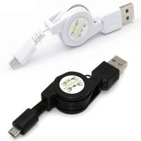 Top quality smart phones generic retractable micro USB cable