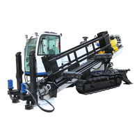FDP-25 Horizontal directional drilling rig HDD with 25 tons capacity and operation cabinet
