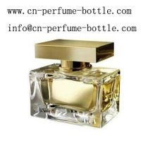 100ml square glass perfume bottle with spray pump
