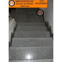 Egyptian Grey Granite steps