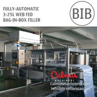 Fully-automatic 3-25L BIB Filling Machine Bag in Box Filler
