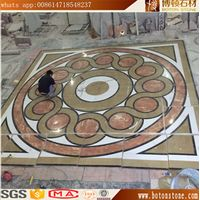 Waterjet medallion Villla marble floor design patterns thumbnail image