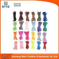Ysetex modacrylic&cotton knitted fire rettardant shoelace