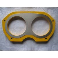 Niigata concrete pump wear plate and wear ring