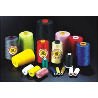 Poly wrapped poly Core Sewing Thread
