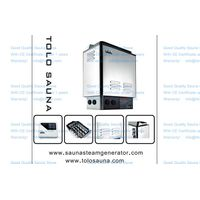 Residential sauna heater, sauna stove