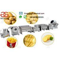 Semi-automatic French Fries Production Line|Potato Chips Making Machine|French Fries Making Machine| thumbnail image