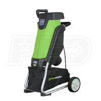 """GreenWorks (1-3/8"""") 15-Amp Electric Chipper thumbnail image"""