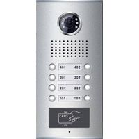 Video Door Phone for Apartment with card reader(8-button)