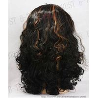 indian remy hair full lace wigs thumbnail image