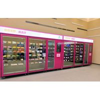Foxconn Automatic Self Service Snack Drink Combo Vending Machine Manufacturer