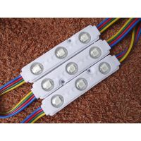 Factory hot sale 5050 rgb module 3led RGB injection module