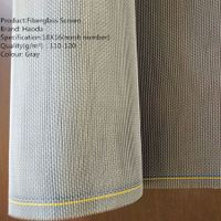 Fiberglass window screen/ glass fiber net