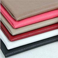Soft and popular PU leather for handbags and suitcases
