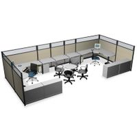 Workstation partition panel