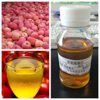 100% Natural clear apple juice concentrate Brix70