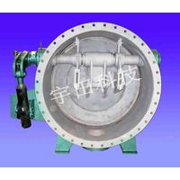 double eccentric butterfly valve for iron and steel plant