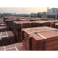 Copper cathode available