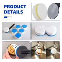 Cleaning Sponge Nano Magic Eraser Sponge Melamine Foam For Dish With Black Handle