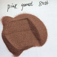 Waterjet cutting media abrasive pink garnet sand with low price