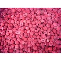 frozen whole red raspberry