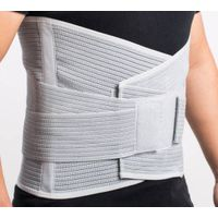 double pull adjustable lumbar high Back brace Support