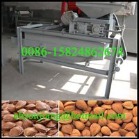 Nuts dehulling and separating/Hazelnut Shell Dehulling Machine/Apricot Shell Removing Machine