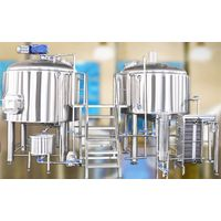 20bbl micro brewery equipment with brewhouse and fermenter