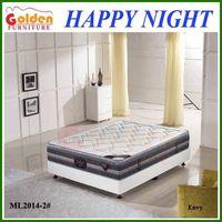 Used bedroom furniture pocket memory foam mattress